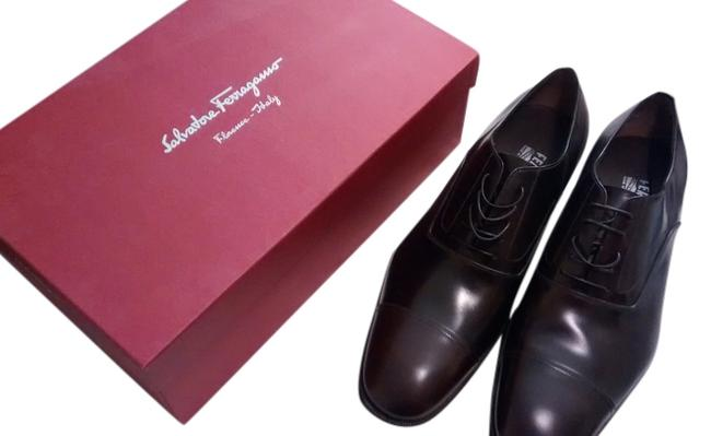 Item - Brown Cap Toe Oxford Lavorazione Made In Italy. Formal Shoes Size US 11.5 Extra Wide (Ww, Ee)