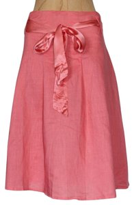 Anthropologie Romantic Boho Hazel Skirt PINK
