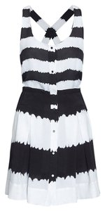 A.L.C. short dress black and white Alc on Tradesy