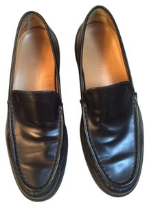 Tod's Leather Classic Loafers black Flats