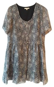 Madewell short dress dark and light grey, hint of mauve on Tradesy