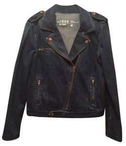 Gap Rose Gold Denim Womens Jean Jacket