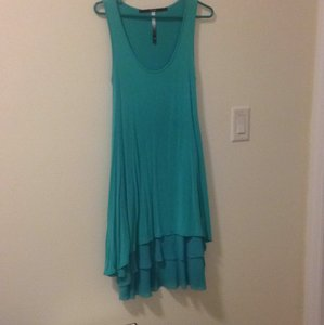 Kensie short dress Tiffany Blue on Tradesy