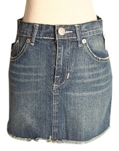 Rock & Republic Mini Mini Skirt DENIM BLUE