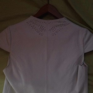 Arden B Top White Leather