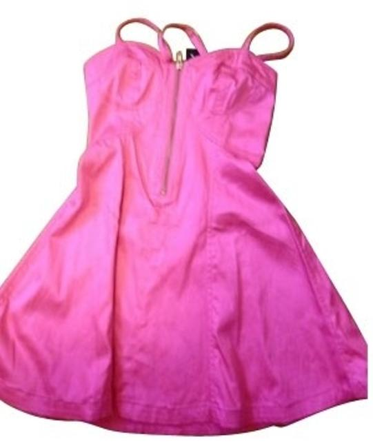 Preload https://item5.tradesy.com/images/french-connection-pink-night-out-dress-size-0-xs-679-0-0.jpg?width=400&height=650