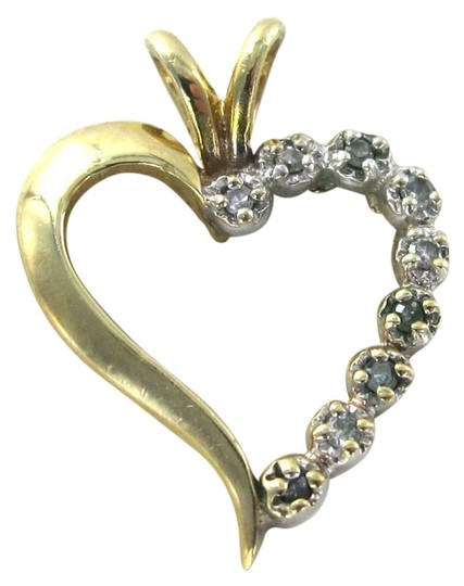 Preload https://img-static.tradesy.com/item/679016/gold-14kt-yellow-solid-heart-pendant-valentines-diamond-love-18-grams-charm-0-0-540-540.jpg