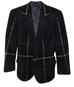 Polo Ralph Lauren PLAID WOOL MENS SZ 40 short. Blazer