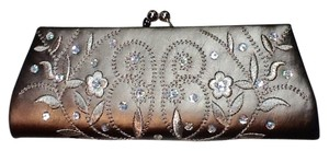 Bijoux Terner Golden Brown Clutch