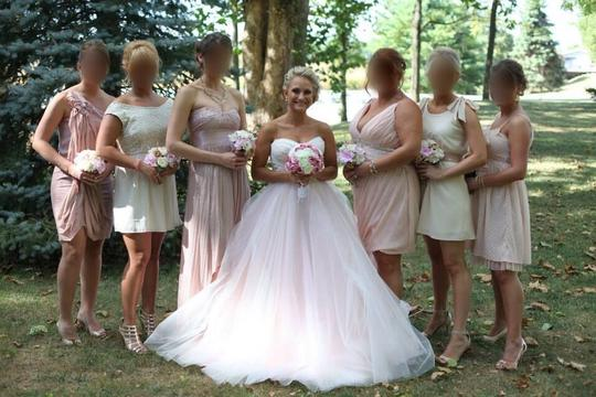 Forever Yours Blush Sweetheart Ballgown (lazaro Look-a-like) Wedding Dress