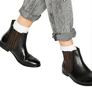 H by Hudson Black and Brown Boots