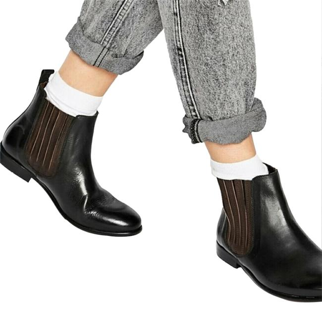 Item - Black and Brown Two-tone Chelsea Boots/Booties Size US 8 Regular (M, B)