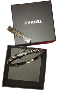 Chanel Chanel,brand,new,with,tags,gunmetal,bangke,bracelet
