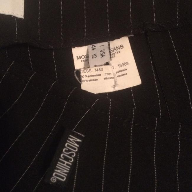 Moschino Vintage Formal Pencil Skirt Black And White stripes Image 2