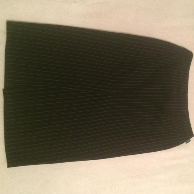 Moschino Vintage Formal Pencil Skirt Black And White stripes Image 3