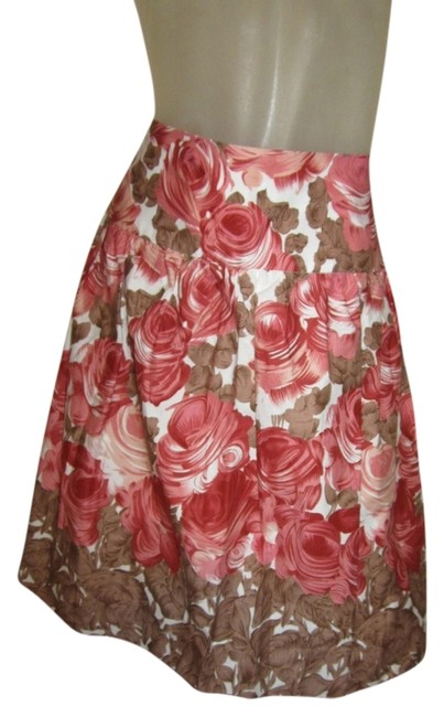Speechless Cute Size 3 Size 4 Roses Peach Skirt Peach Floral