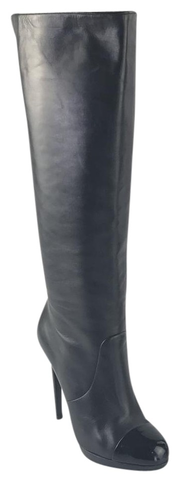 Brian Atwood Fanfan Black Fanfan Atwood Cap Toe Boots/Booties 053a2a