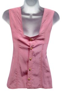 Chanel Clothing Silk Top Pink