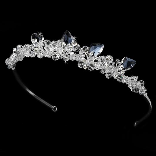 Modern Swarovski Wedding Bridal Tiara