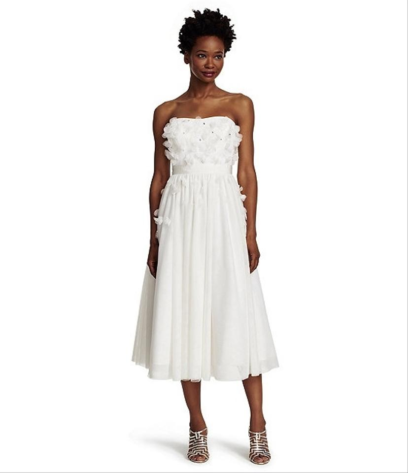 adrianna papell wedding dress papell papell strapless tulle 1210