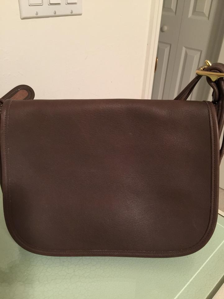 817e549cddcc Coach Patricia Vintage 9951 Patricia s Legacy Dark Brown Leather ...