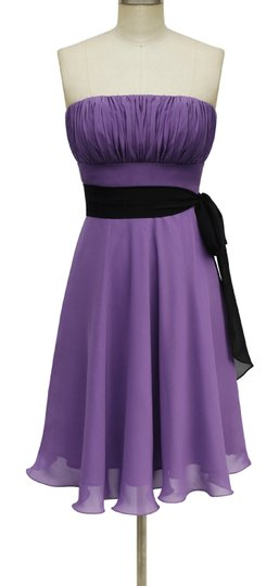 Preload https://img-static.tradesy.com/item/679598/purple-chiffon-violet-strapless-pleated-bust-w-sash-formal-bridesmaidmob-dress-size-6-s-0-0-540-540.jpg