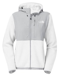 The North Face TNF White / High Rise Grey Jacket