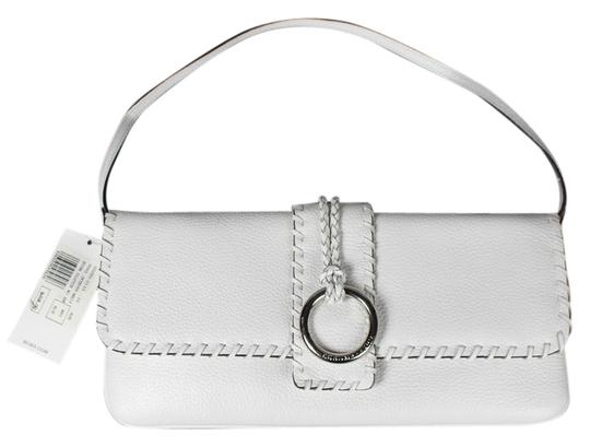 Preload https://img-static.tradesy.com/item/6797626/bcbgmaxazria-stitched-white-leather-clutch-0-1-540-540.jpg