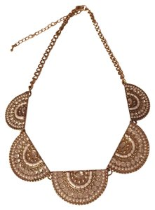 Francesca's Half Circle Crystal Necklace