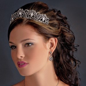 Majestic Dazzling Crystal Wedding Bridal Tiara