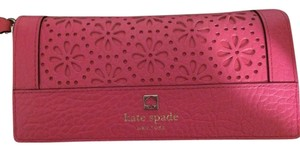 Kate Spade Kate Spade Cut-out Flower Wallet with Strap