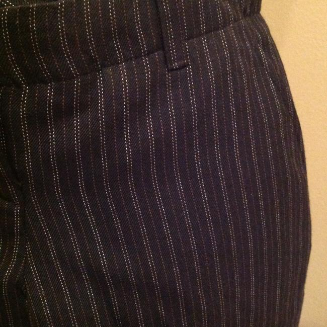 Other Pinstripe Size 4 Flare Pants Image 1