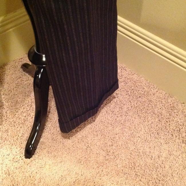 Other Pinstripe Size 4 Flare Pants Image 2