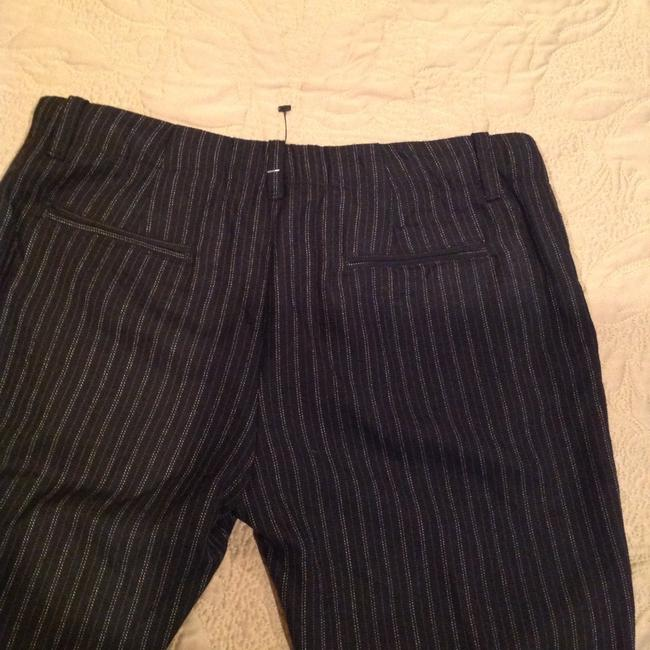 Other Pinstripe Size 4 Flare Pants Image 4