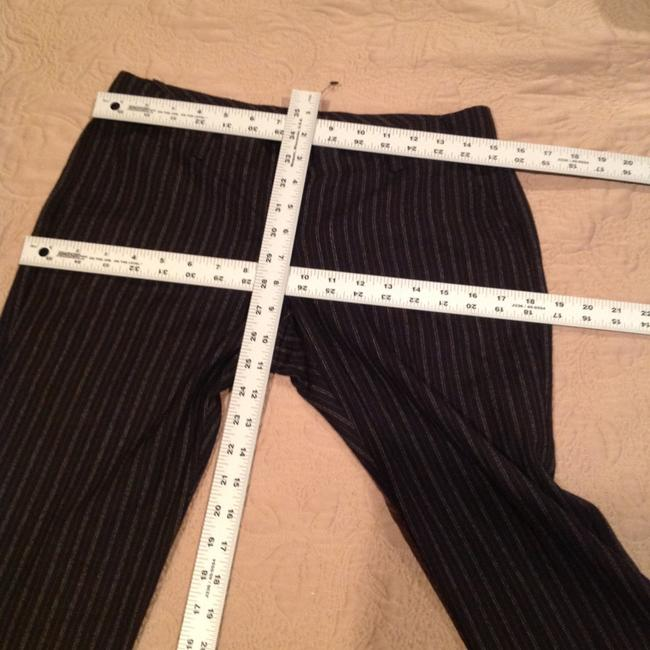 Other Pinstripe Size 4 Flare Pants Image 5