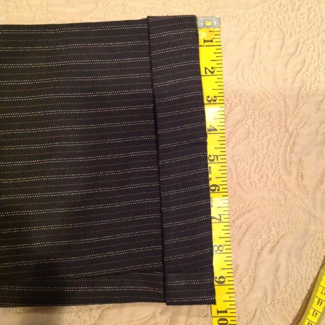 Other Pinstripe Size 4 Flare Pants Image 7