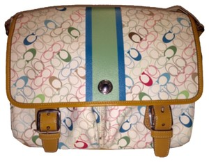 Coach Multicolor Messenger Bag