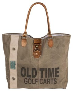 Colonial Tin Works Collection Vintage Purse Golf Tote in Stonewashed Canvas