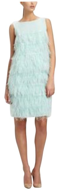 Preload https://img-static.tradesy.com/item/6799780/st-john-mint-tiered-feather-short-cocktail-dress-size-0-xs-0-1-650-650.jpg