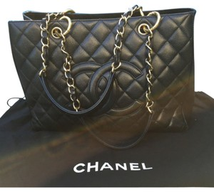 Chanel Cabiar bag Satchel in Black