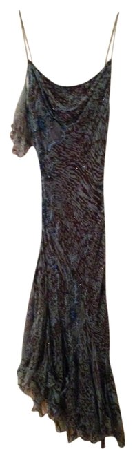 Preload https://item2.tradesy.com/images/blue-and-brown-avantgarde-silk-beaded-evening-mid-length-formal-dress-size-10-m-679986-0-0.jpg?width=400&height=650