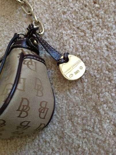 Dooney & Bourke Designer Logo Shoulder Bag Image 1