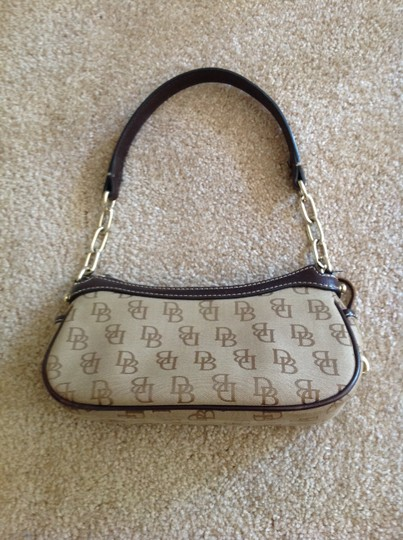 Dooney & Bourke Designer Logo Shoulder Bag Image 3
