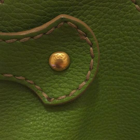 Tod's Satchel in bright green Image 3