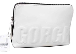 "3.1 Phillip Lim * 3.1 Phillip Lim 31-Second ""GORGE"" Makeup Pouch - White/Black"
