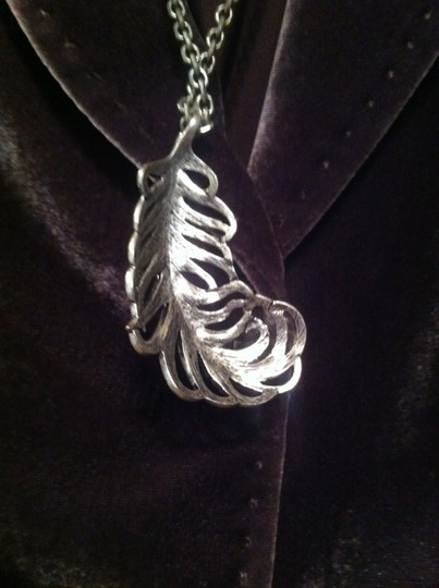 Guess Silver Leaf Necklace