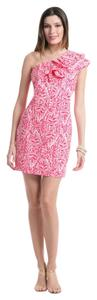 Lilly Pulitzer short dress Pink Summer on Tradesy