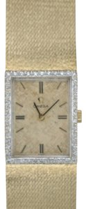 Omega Omega 14K Gold Diamonds