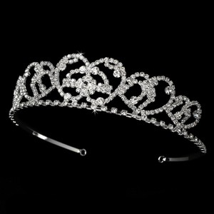 Princess Diana Inspired Rhinestone Wedding Bridal Tiara
