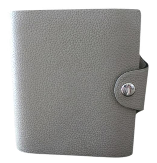 Preload https://img-static.tradesy.com/item/680482/hermes-gray-leather-etoupe-ulysse-mini-notebook-leather-wallet-0-0-540-540.jpg